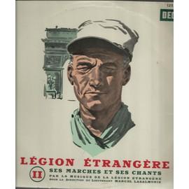 Présentation Par <b>Jean Faucon</b>, Vers Le Bled, La Légion Des Breles, Honneur Et - presentation-par-jean-faucon-vers-le-bled-la-legion-des-breles-honneur-et-fidelite-refrain-de-la-legion-la-victoire-est-a-vous-le-chant-du-premier-etranger-de-cavalerie-cravate-verte-25cm-musique-de-la-legion-etrangere-direction-lieutenant-marcel-lasalmonie-893872516_ML