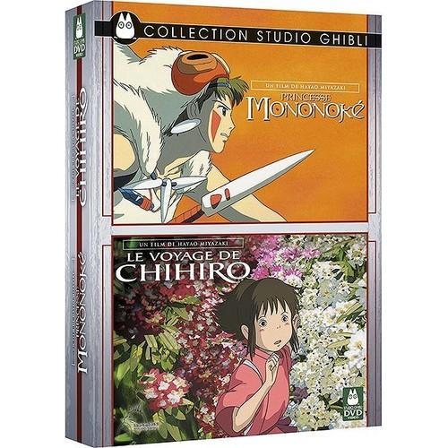 le voyage de chihiro princesse mononoke coffret pack de hayao miyazaki achat et vente. Black Bedroom Furniture Sets. Home Design Ideas