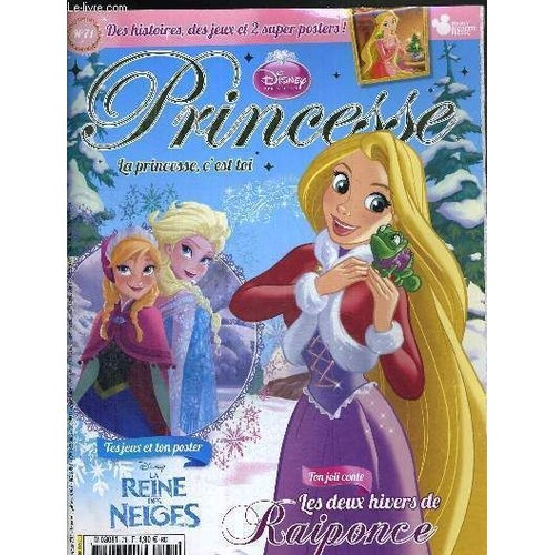 Princesse n 71 novembre 2013 tes jeux la reine des neiges ton joli conte les deux - Jeux princesse des neiges ...