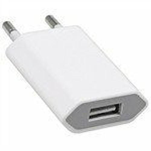 prise chargeur adaptateur secteur usb pour iphone 3g 3gs 4 4s ipod. Black Bedroom Furniture Sets. Home Design Ideas