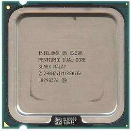 Processeur - 1 x Intel Pentium Dual Core E2200 / 2.2 GHz ( 800 MHz )