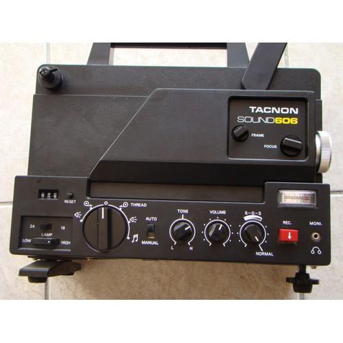 projecteur super 8 tacnon sound 606 pas cher. Black Bedroom Furniture Sets. Home Design Ideas