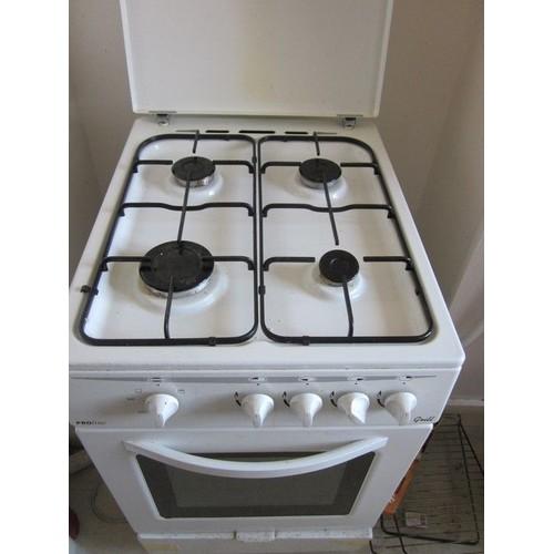proline pgc56w f cuisini re gaz 4 br leurs achat et vente. Black Bedroom Furniture Sets. Home Design Ideas