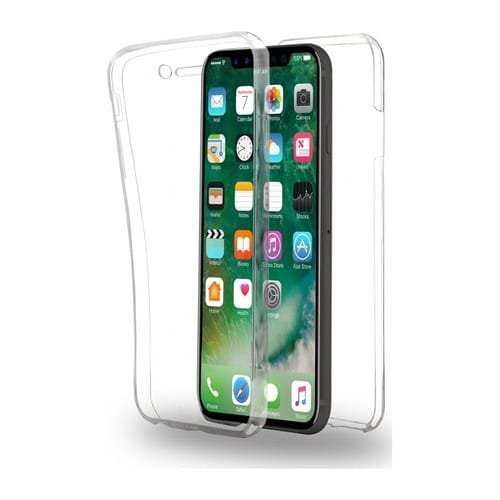 coque iphone xr dure transparente