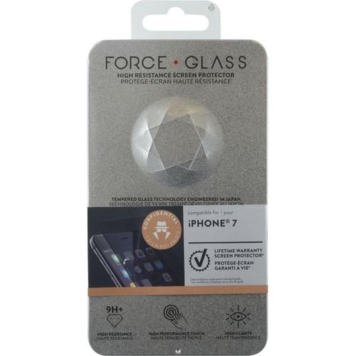 prot ge cran en verre tremp force glass fum pour iphone 7 pas cher. Black Bedroom Furniture Sets. Home Design Ideas