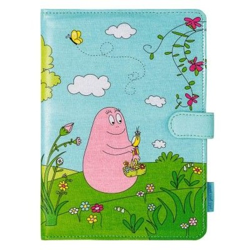 prot ge porte carnet de sant barbapapa bleu vert pour nourrisson b b enfant gar on fille. Black Bedroom Furniture Sets. Home Design Ideas