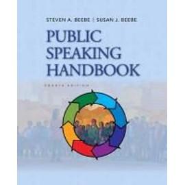 Public Speaking Handbook de Steven A. Beebe