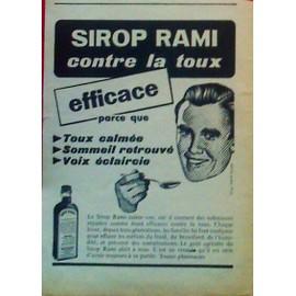 Publicite Ancienne (Novembre 1956) Pour Le Sirop Contre La Toux