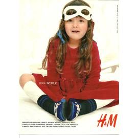 publicit ancienne octobre 2003 en 3 pages pour les v tements pour enfants h m h et m. Black Bedroom Furniture Sets. Home Design Ideas
