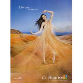 Publicit� Papier - Air Mauritus, �le Maurice De 2010