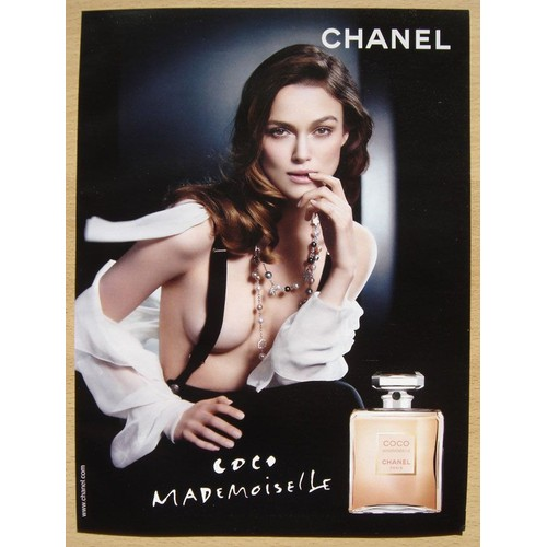 publicit papier parfum coco mademoiselle de chanel de 2009. Black Bedroom Furniture Sets. Home Design Ideas