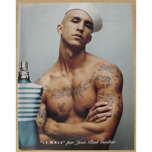 Publicit papier parfum le male par jean paul gaultier - Le male jean paul gaultier prix ...