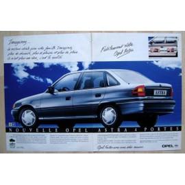 Publicit� Papier - Voiture Opel Astra De 1992