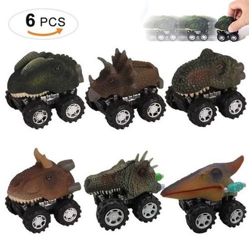 Jouet Voiture Pour Âge Mini Dinosaures Pull Garçon 3–14 Back Enfants Anniversaire6pack doQeCxrBW