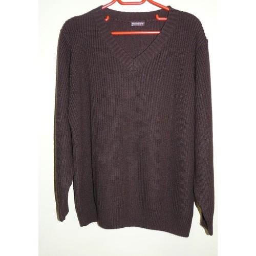 0813a5e165a5 pull-marron-femme-marque-la-blanche-porte-taille-46-48-1121405072 L.jpg