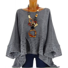 pull poncho grande taille