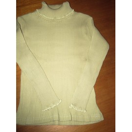 Pull Tissaia Vert Maille Chaussette Taille 4ans
