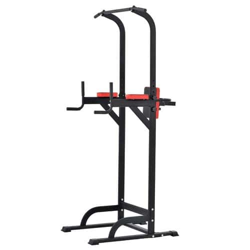 Pullup Fitness Barre De Traction Ajustable Station Musculation Dips Chaise Romaine