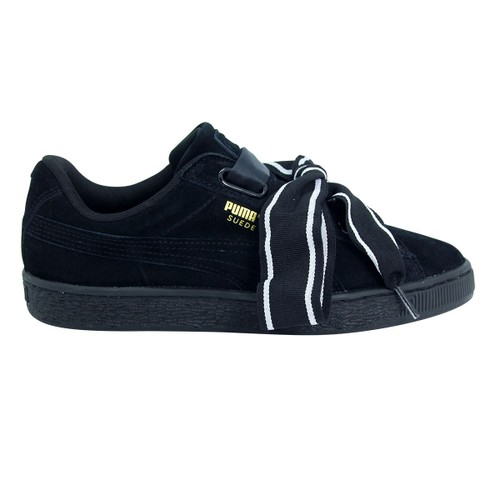 Puma Wns Suede Heart Satin Chaussures Mode Sneakers Femme Cuir Suede Chaussures de basket