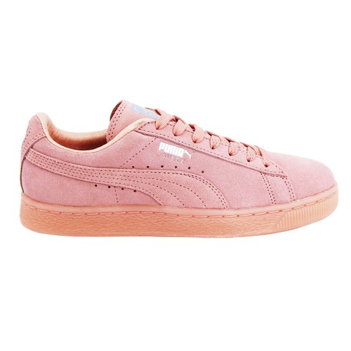 Puma Wns Suede Mono Chaussures Mode Sneakers Femme Cuir Suede Ortholite Chaussures à coussin d'air