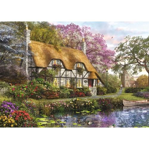 Puzzle 1000 Pieces Dominic Davison The Gardener S Cottage 1251281835_L