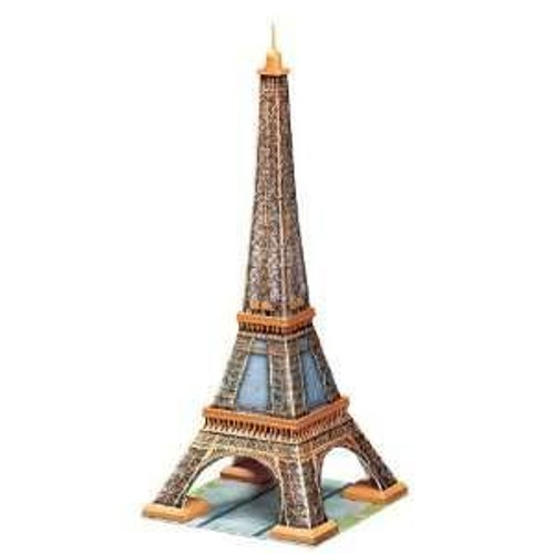 puzzle 3d tour eiffel carton m neuf et d 39 occasion sur priceminister. Black Bedroom Furniture Sets. Home Design Ideas