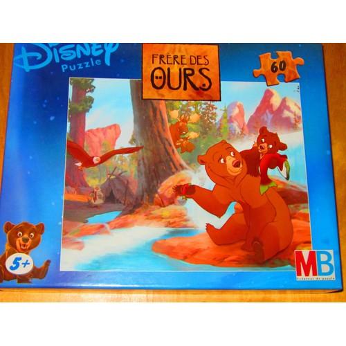 Pièces Freres Mb Puzzle Des Ours 60 Disney hrtsQxdCB