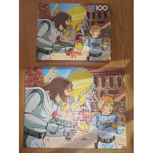 Puzzle du dessin anim ulysse 31 jouet mb vintage - Puzzle dessin ...