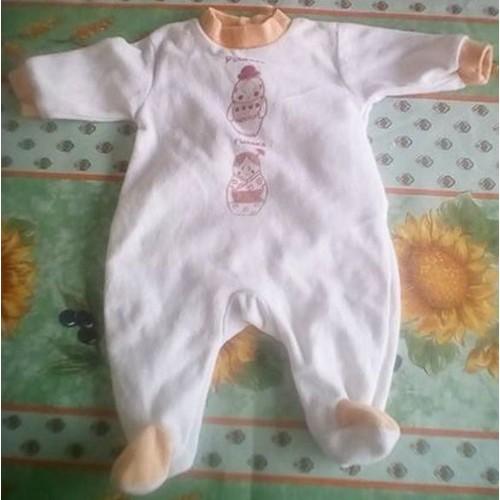 d22a92d6cfdca Pyjama Bébé Fille 1 Mois - Achat vente de Sous-vêtements - Rakuten