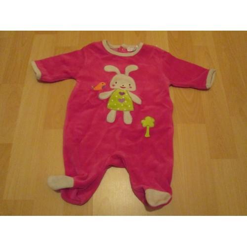 f7eb27ee19af1 Pyjama Bebe Fille 1 Mois Kitchoun - Achat et vente - Rakuten