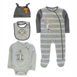 pyjama body bavette bandana disney tigrou b b. Black Bedroom Furniture Sets. Home Design Ideas