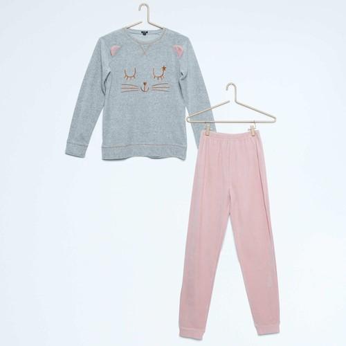 pyjama en velours kiabi fille 5 ans achat et vente. Black Bedroom Furniture Sets. Home Design Ideas