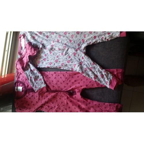 pyjama h m sans pied coton 12 mois rose achat et vente rakuten. Black Bedroom Furniture Sets. Home Design Ideas
