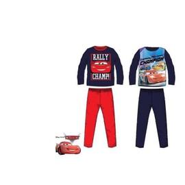 43166e113a62e Pyjama Long De Nuit Pour Enfant Garçon Disney Cars 100% Coton En Bleu T: 3  ...