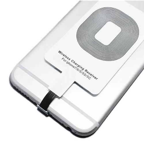 qi iphone sans fil chargeur r cepteur pour iphone 7 plus iphone 7 iphone se iphone 6 iphone 6. Black Bedroom Furniture Sets. Home Design Ideas
