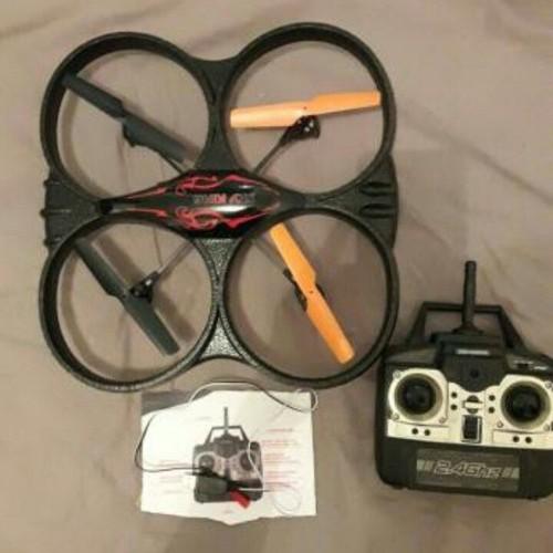 quadricoptere drone radiocommande 2 4 ghz gyroscope neuf et d 39 occasion. Black Bedroom Furniture Sets. Home Design Ideas