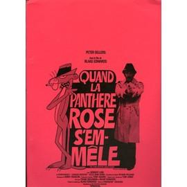 Quand La Panth�re Rose S'emm�le, Dossier De Presse, Blake Edwards, Avec Peter Sellers, Herbert Lom