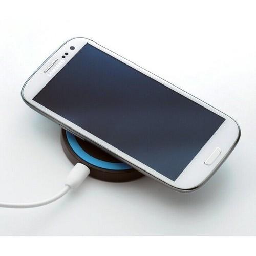 qumox wireless qi power charger pad chargeur sans fil pad bleu c ble usb micro pour nokia. Black Bedroom Furniture Sets. Home Design Ideas