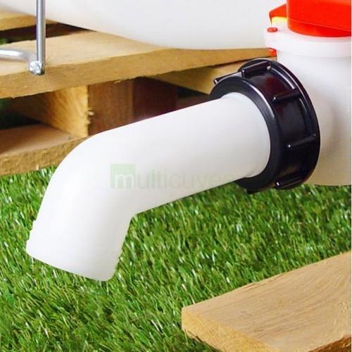 raccord s60x6 cuve eau 1000l prolongateur diam tre 40 mm pas cher. Black Bedroom Furniture Sets. Home Design Ideas