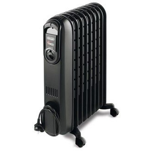 radiateur bain d huile a inertie 1500w delonghi pas cher. Black Bedroom Furniture Sets. Home Design Ideas