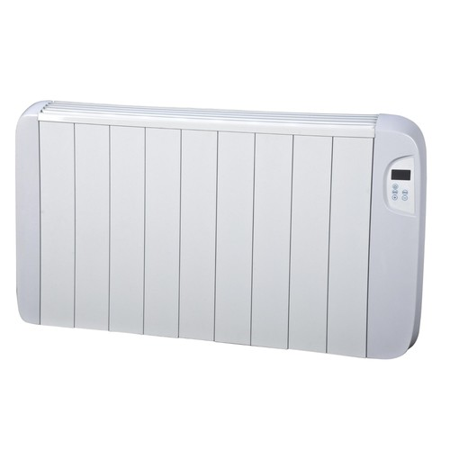 radiateur c ramique 1500 watts heallux avec programmation lcd pas cher. Black Bedroom Furniture Sets. Home Design Ideas