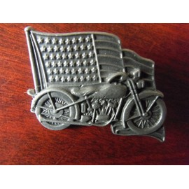 rare objet artisanal pin pin 39 s pins en tain fait main harley davidson dim 4 5 x 3cm. Black Bedroom Furniture Sets. Home Design Ideas