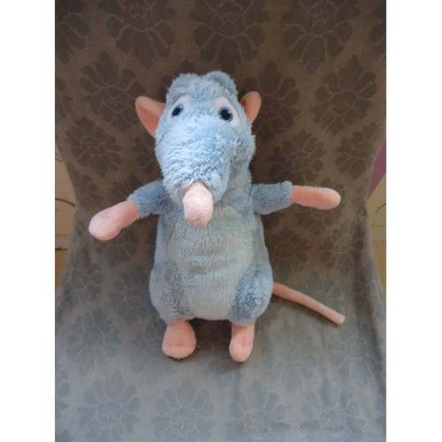 rat en peluche grand dans ratatouille disney gipsy 30 cm. Black Bedroom Furniture Sets. Home Design Ideas