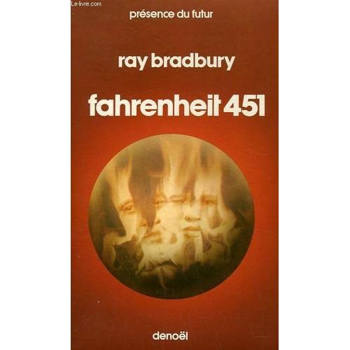 fahrenheit 451 collection presence du futur n 8 de ray bradbury. Black Bedroom Furniture Sets. Home Design Ideas
