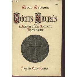 Recits Sacres De L'ancien Et Du Nouveau Testament. de mario meunier