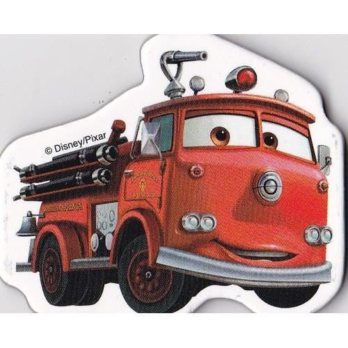 Red camion pompier cars magnet 5 cm par 4 neuf et d - Camion pompier cars ...