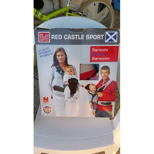 27bc8ef13fc6 Red Castle - 210802 - Porte Bébé Rcs Aertex - Rouge   Gris pas cher