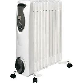 ref 01 radiateur sur roue a inertie bain huile chauffage electrique 2500w mobile. Black Bedroom Furniture Sets. Home Design Ideas