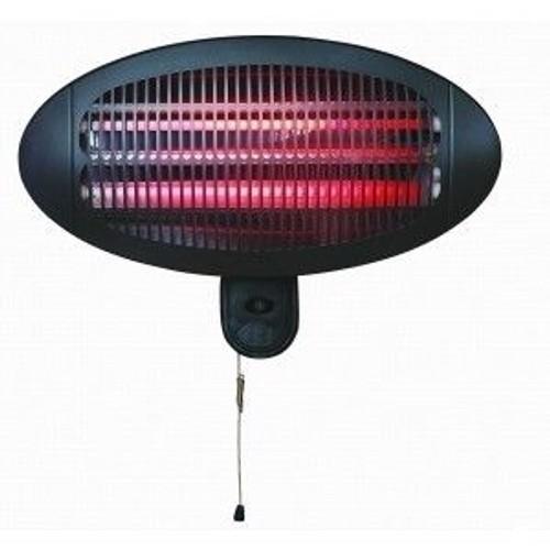radiateur chauffage halogene rayonnant mural chauffant pour jardin ou salle de bain. Black Bedroom Furniture Sets. Home Design Ideas