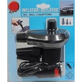 ref 02 gonfleur lectrique 12v pompe pour matelas velo ou bateau pneumatique. Black Bedroom Furniture Sets. Home Design Ideas
